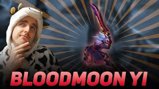 MY IMPRESSIONS ON THE NEW MASTER YI SKIN - BLOODMOON MASTER YI - COWSEP