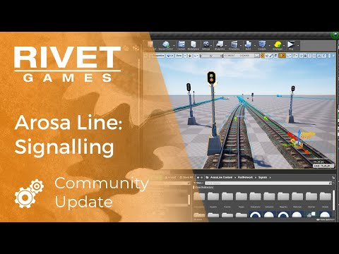 COMMUNITY UPDATE | Signalling on the Arosa Line for Train Sim World 2 |