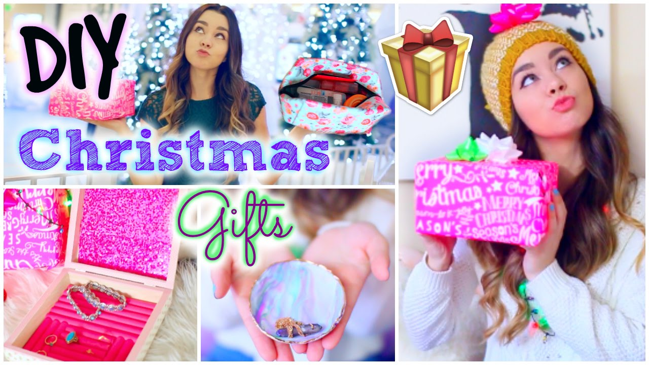 DIY Holiday Gift Ideas! Easy & Affordable Christmas Presents! - YouTube