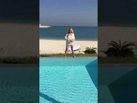 Маша Распутина на отдыхе в Дубае