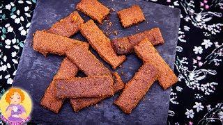 KETO Biscoff Cookie Recipe 🍪 4 Ingredients Speculoos Cookies Sugar Free Low Carb