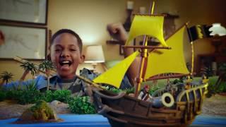 Игровые наборы по мотивам фильма Пираты карибского моря от компании Spin Master