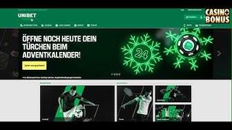 🟩 Casino Test -  Unibet Casino Bonus - 50 Freispiele holen!