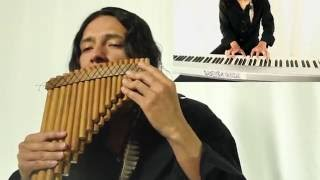 ave maria bach gounod instrumental music with native flutes