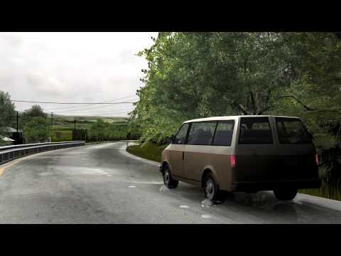 Legal Graphics - Descriptive Animation - Event Reconstruction - Traffic Accident Video