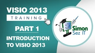 Visio 2013 for Beginners - Part 1 - Introduction to Microsoft Visio 2013