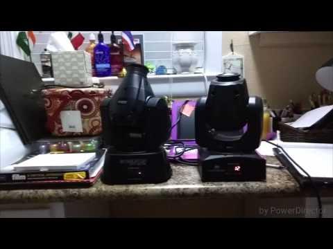 Chauvet Intimidator 100 vs. ADJ Inno Pocket Spot