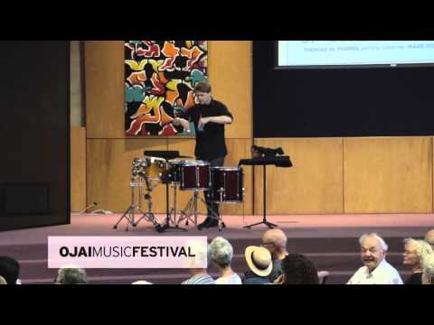 Ojai Music Festival 2013: John Luther Adams' Songbirdsongs performed by red fish blue fish ensemble