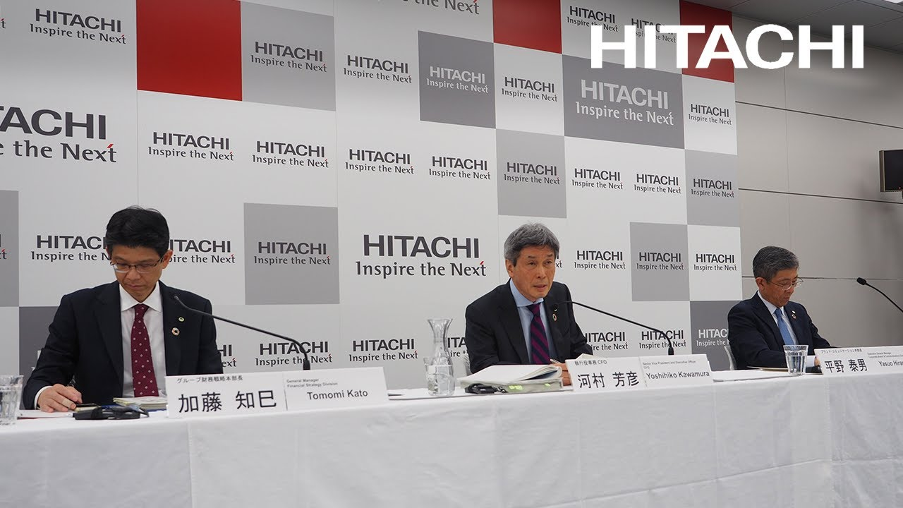 Download Web Conference on Q3 FY2020 Earnings for Media - Hitachi
