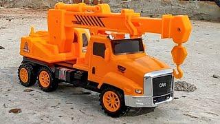 Bulldozer, Excavator Beko Keruk dan Truk Crane