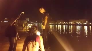 Танцевали и прыгнули в Москва-реку