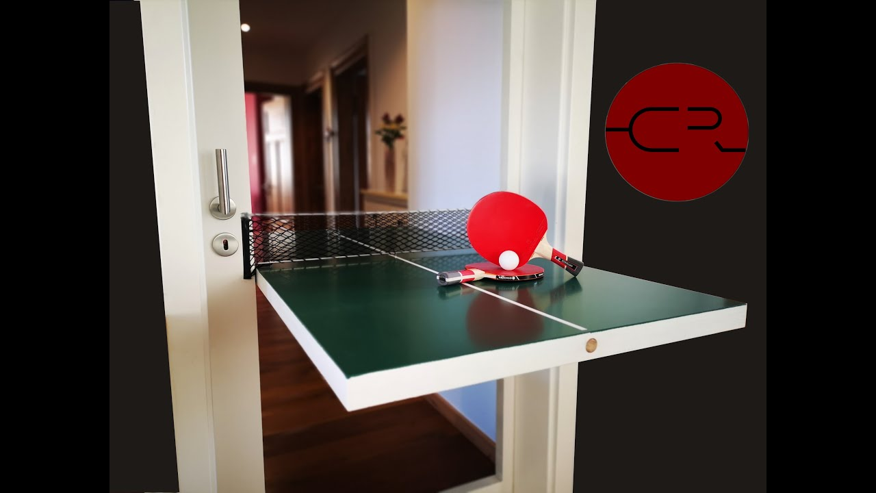 Diy Table Tennis Door Ping Pong Table