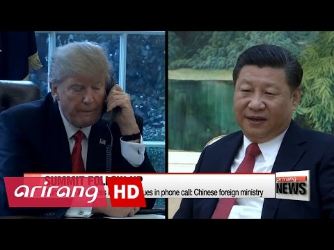 Trump and Xi hold phone talks on North Korea issues as tension builds