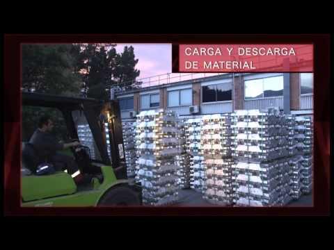 VIDEO CARGA Y DESCARGA DE CAMIONES