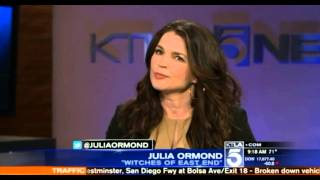 "Julia Ormond ""Witches of East End"" Season Two Interview"