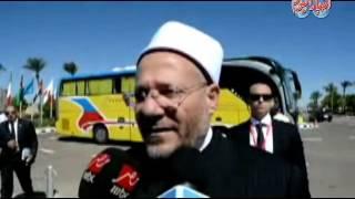 أخبار اليوم | مفتى الجمهورية المصريين قادرين على العطاء فى أي مكان وزمان