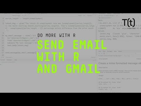 How to send email from R and Gmail   InfoWorld
