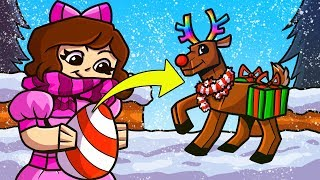 Minecraft: CHRISTMAS SIMULATOR!!! (CRAFT PRESENTS & EARN PETS!) Modded Mini-Game