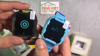 Đồng hồ định vị GPS WiFi 4G SmartKID DF-39Z Video call/Chống va đập/Pin dung lượng cao