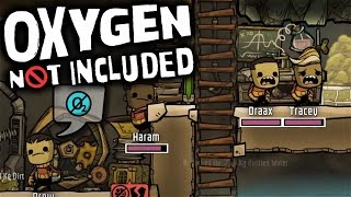 Oxygen Not Included - Barely Breathing (Let's Play Oxygen Not Included Ep 7) | Zueljin Gaming