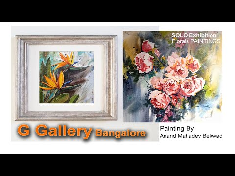 anand bekwad  exibition@g gallery bangalore
