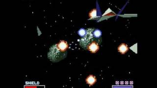 Star Fox Level 3 Stage 2 - Asteroid Belt