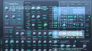 """Kairatune - Free VSTi Video Demo - """"Like Massive for Ambient"""""""
