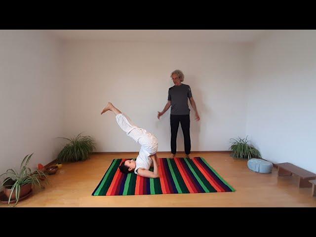 Yoga zur  stärkung der Bauchdecke _35 Min.