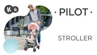 Super light and compact pushchair Kinderkraft PILOT