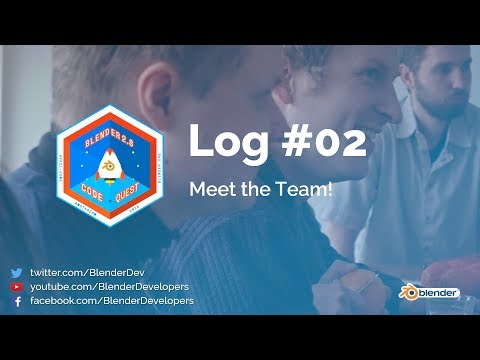 Meet the Team - Code Quest Log #02 - Blender 2.8