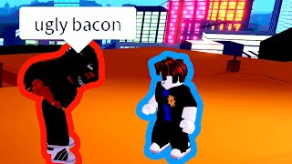 ARRESTING the BIGGEST BACON HAIR HATER EVER | Roblox Jailbreak