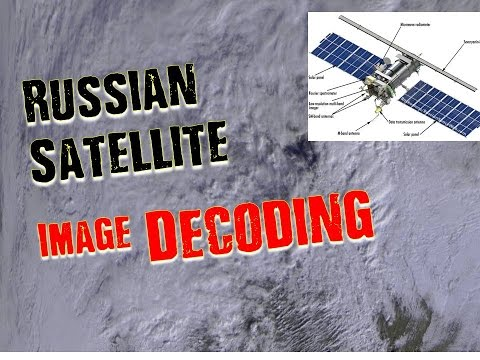 High Detail Weather Images from Russian Meteor M2 Satellite