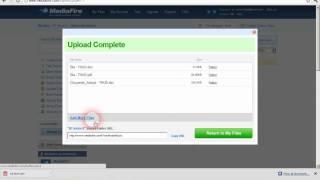 Hướng dẩn upload và download file từ mediafire