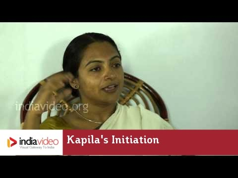 Kapila's Initiation to Kutiyattam