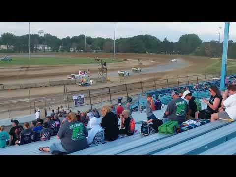 Clay County Speedway Sport Modified feature 7-15-18