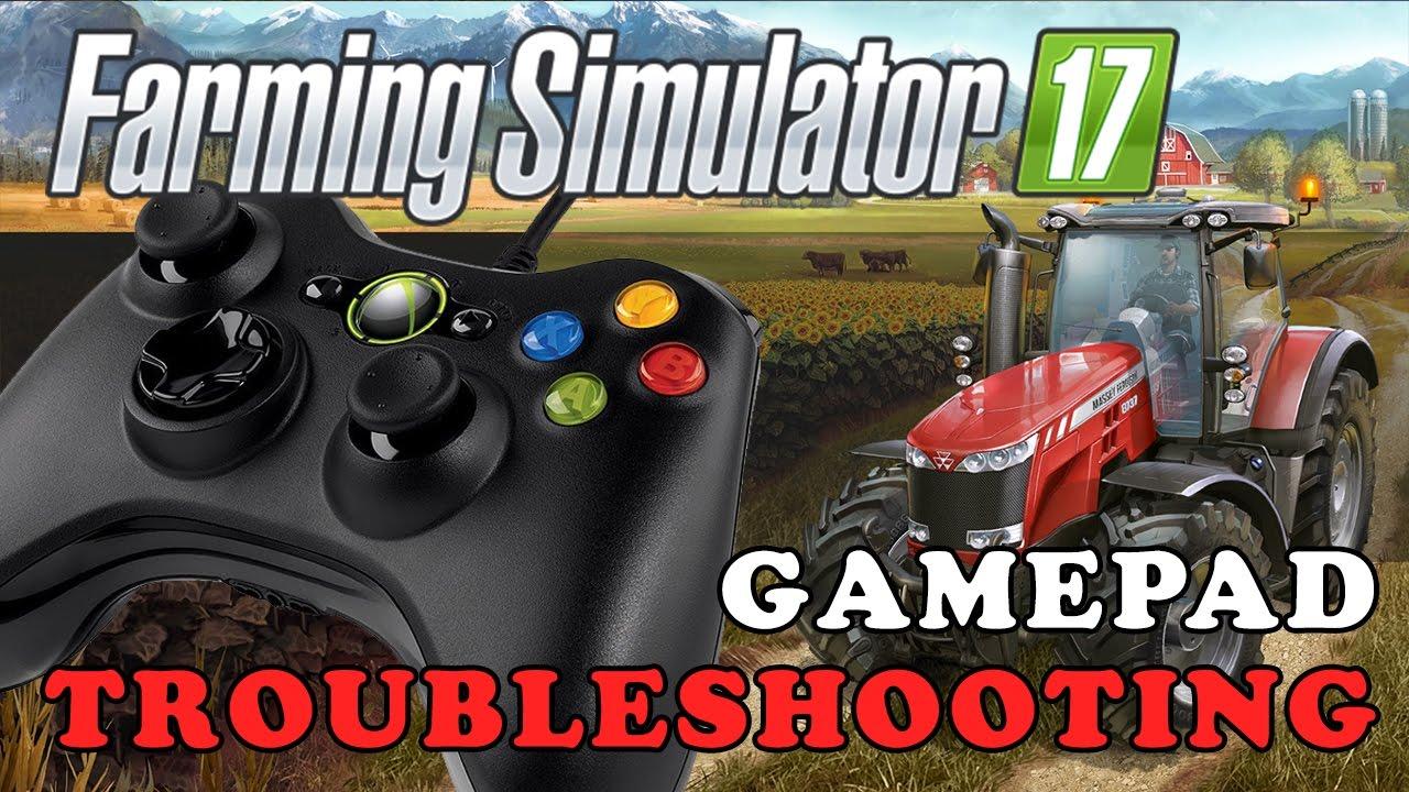 Farming Simulator 17 Gamepad Troubleshooting Pc Youtube