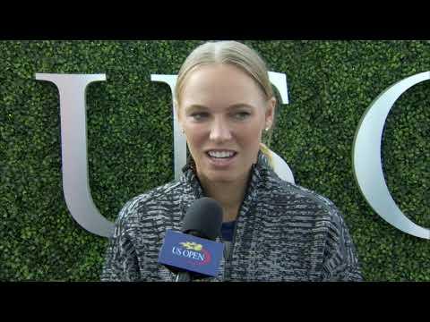 Caroline Wozniacki Interview at the US Open 2017