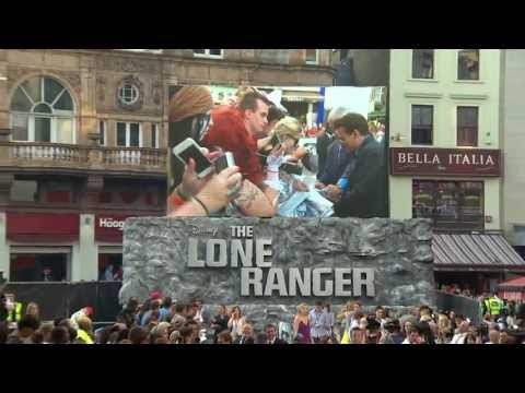 The Lone Ranger - UK Premiere - London - July 21st 2013 - Official Disney | HD