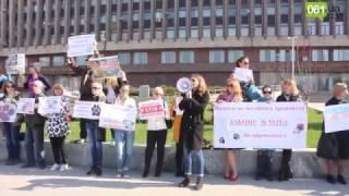 В Запорожье зоозащитники против издевательства над животными (видео 061.ua)