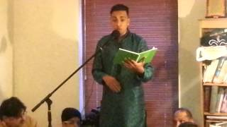 Rab e Abbas(a.s) ne yohn ki Hai by  Abbas Lalji reciting Jashan Mola Abbas(a.s)