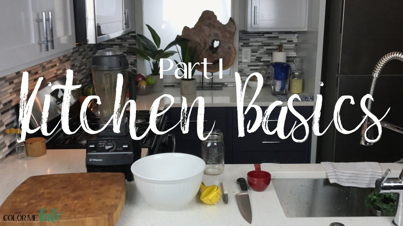 title   Minimalist Kitchen Essentials