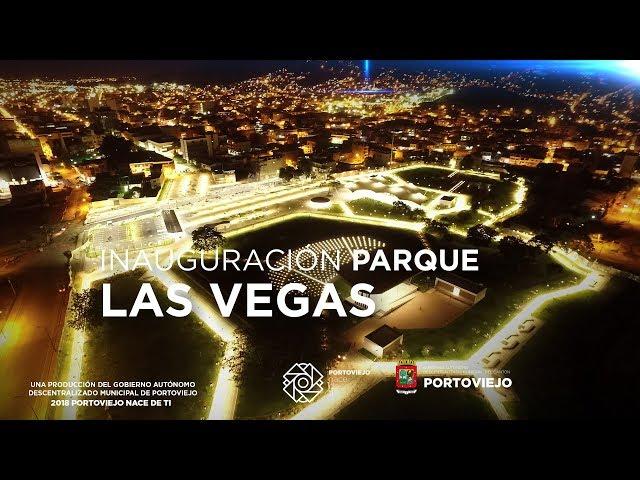 Parque Las Vegas resurge en Portoviejo Ecuador