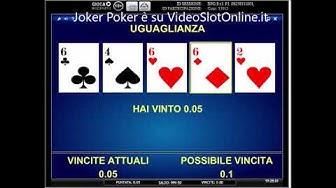 Video Poker Gratis Joker Poker