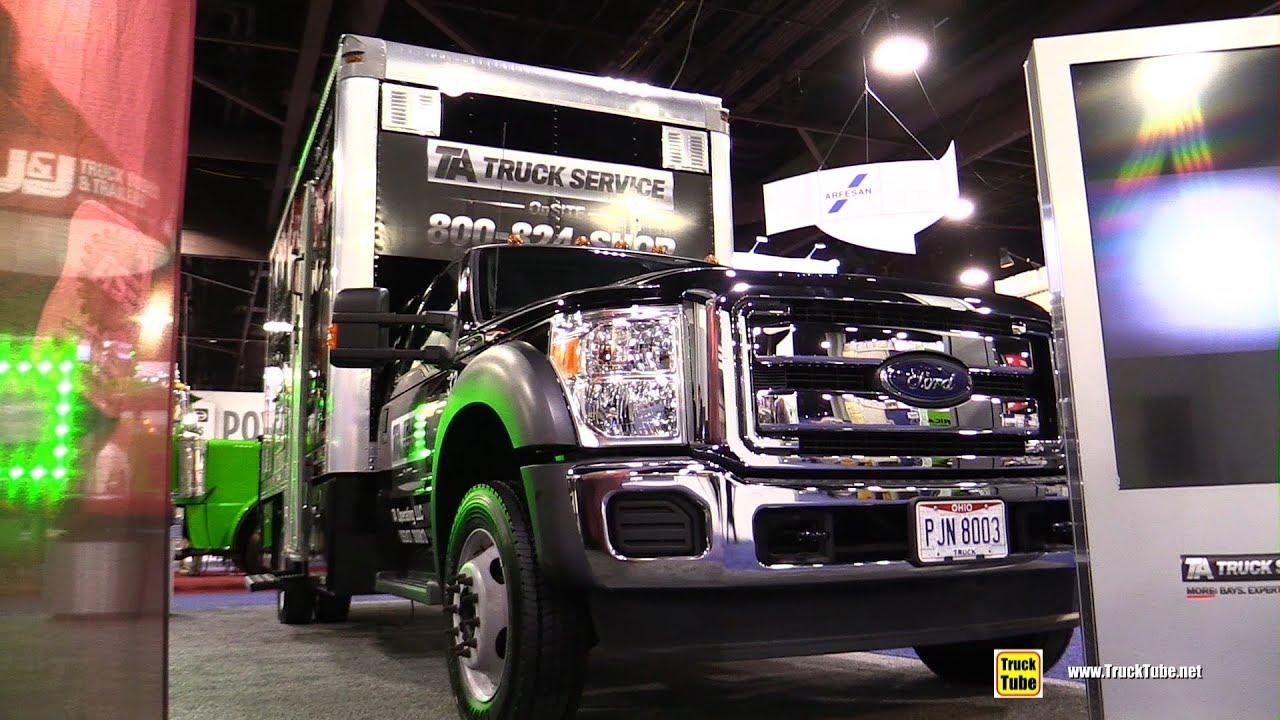 Ta Truck Service >> 2017 Ford F550 Super Duty Xl Ta Truck Service Truck Walkaround 2017 Nacv Show Atlanta