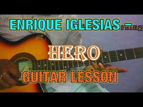 Hero Guitar Lesson |  Enrique Iglesias Guitar Tutorial | Vikas Sharma