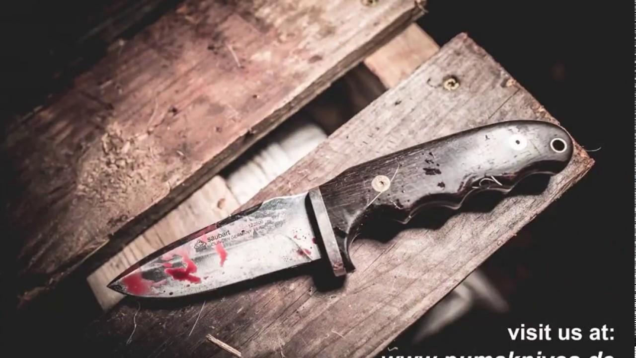 Puma Saubart Jagd Und Outdoormesser Hunting Knives Youtube