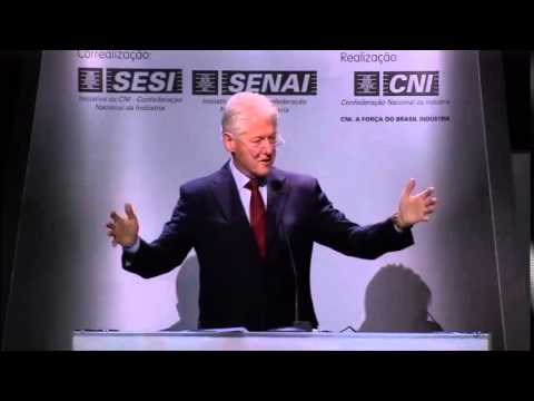 ENAI 2015: The world needs a successful Brazil, says Bill Clinton