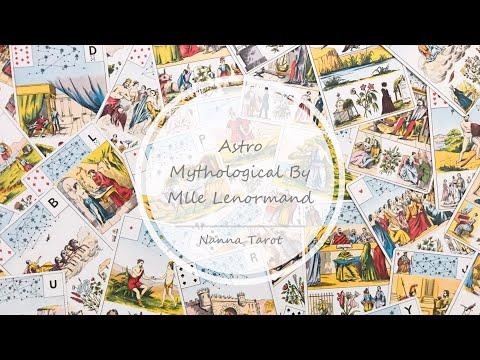 開箱  天文神話雷諾曼 • Astro Mythological By Mlle Lenormand // Nanna Tarot