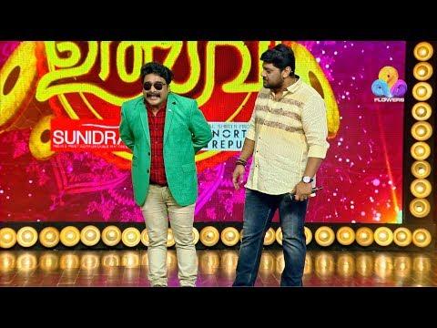 Flowers TV Comedy Utsavam Episode 195