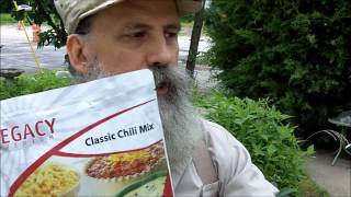 Legacy 25-Year Shelf-Life Food Review by Survival Doc